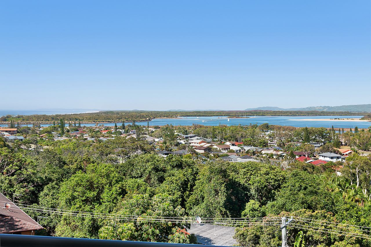View from East Ballina holiday apartment